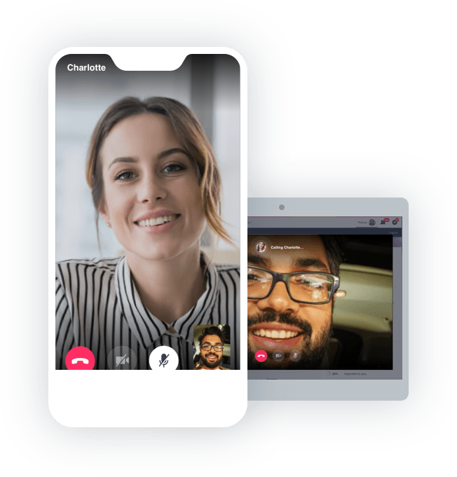 video chat preview